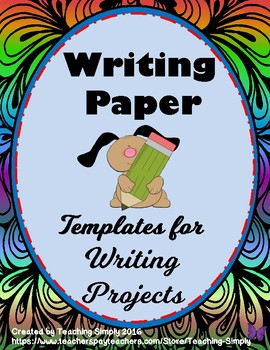 Writing Paper Templates