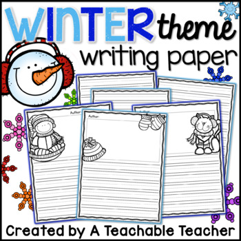 Writing Paper - Winter