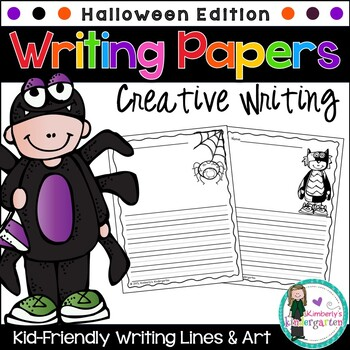 Writing Papers: Halloween Theme