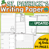 St Patrick's Day Writing Paper