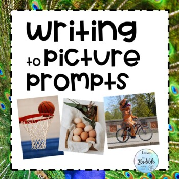 Writing Picture Prompts for RTI or Special Ed #spednewyear