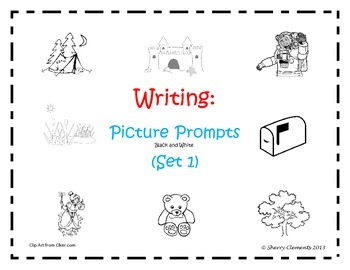 Writing Picture Prompts: Set 1 (26 pages)