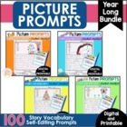 Writing Picture Prompts - Fall Winter Spring BUNDLE -