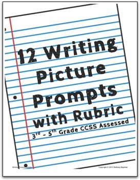 Writing Picture Prompts with Rubric