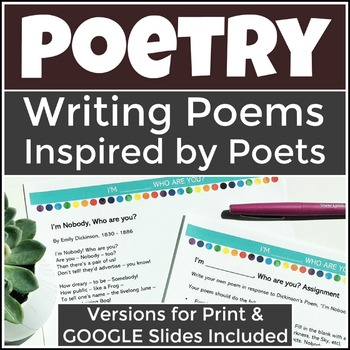 Writing Poetry Inspired by Poetry