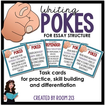 Writing Pokes: Essay Structure {FREE!}