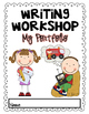 Writing Portfolio Cover