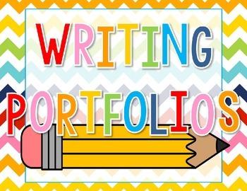 Writing Portfolio Cover - Freebie