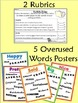 Writing Portfolio Design: Overused Words, Parts of Speech,