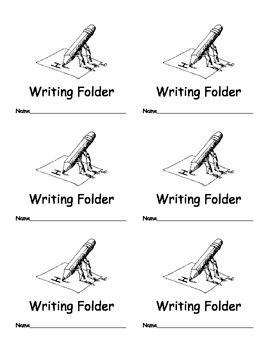 Writing Portfolio Labels for Classroom Organization Classr