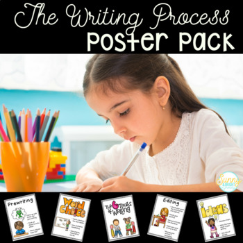 Writing Poster Pack- Writing Process and Traits of Writing