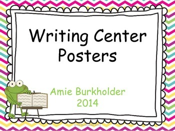 Writing Posters