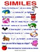 Writing Posters English  (25 Full Color)