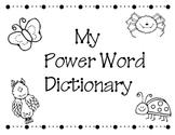 Writing Power Word Dictionary