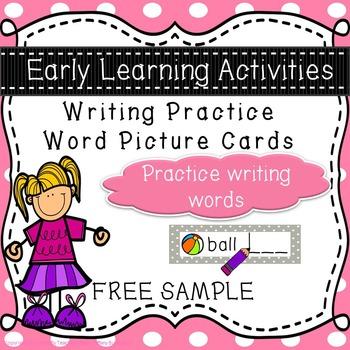 Writing Task Cards (FREE SAMPLE)