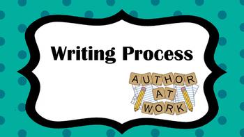 Writing Proccess Chart