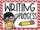 Writing Process Clip Chart {Primary Colors Chevron Classro