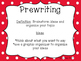 Writing Process Red Carnival