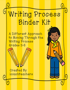 Writing Process Binder Kit: Literally Moving Through the Process