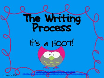 Writing Process It's A Hoot Posters