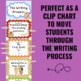 Writing Process Clip Chart - Dog Theme