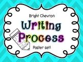 Writing Process Posters- Bright Chevron