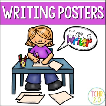 Writing Process Posters and Bunting Banner