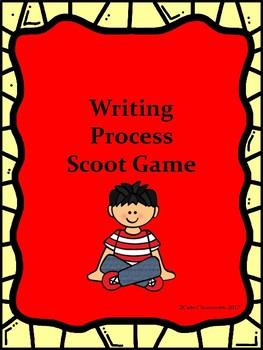 Writing Process Scoot Game Freebie