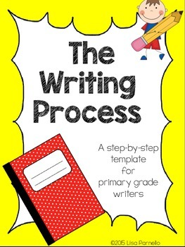Writing Process Template for Primary Students