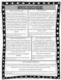 Writing Project Choice Board - Third Grade