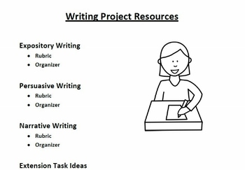 Writing Project - Persuasive, Expository, and Narrative (C