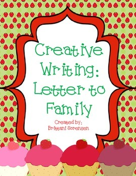 Writing Projects: Letter to Family