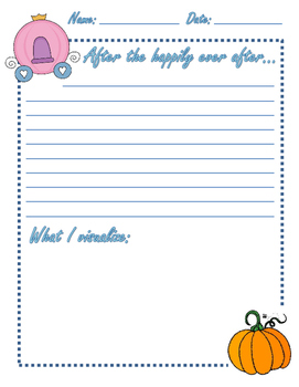 Writing Prompt - After the Happily Ever After...