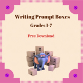 Writing Prompt Boxes