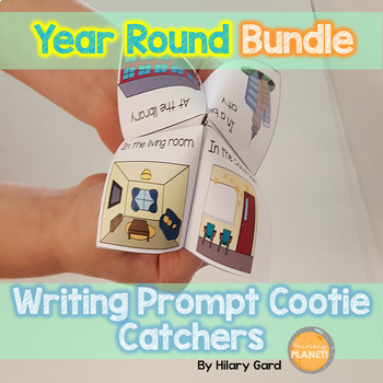 Writing Prompt Cootie Catchers: GROWING bundle! Hands on w