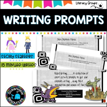 Writing Prompt Ideas -FREE