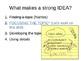 Ideas - Focusing Topic (6+1 Traits of Writing) Mini Lesson