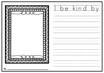 Writing Prompt - Kindness is King.
