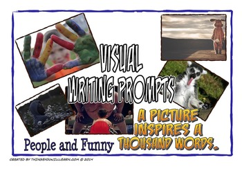 Writing Prompt Pictures and Story Starters (People and Funny)
