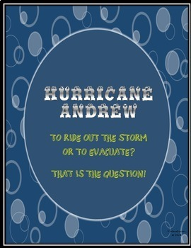 Common Core/PARCC Writing Prompt : Hurricane Andrew