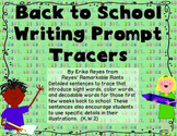 Writing Prompt Tracers
