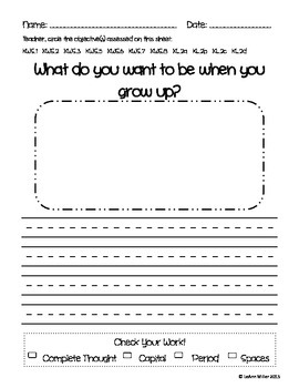 Writing Prompt - What Do You Want to Be When You Grow Up?