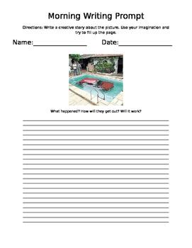 Writing Prompts - 1 Full Week