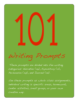 Writing Prompts 101