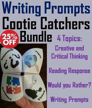 Creative Writing Prompts Activity 7th 6th 5th 4th Grade Re