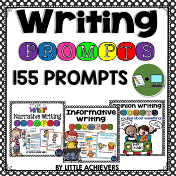 Writing Prompts Bundle (Narrative, Opinion and Informative