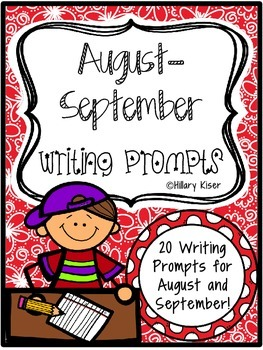 Writing Prompts (August-September)