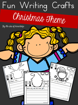 Writing Prompts Christmas Build a Funny Face Craft