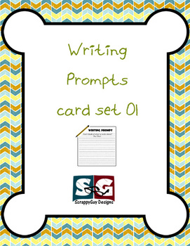 36 Writing Prompts Card Set 01 - Narrative, Informational,
