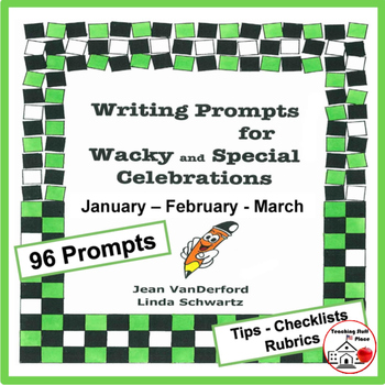 Creative Writing Prompts   MONTHLY   January   February  